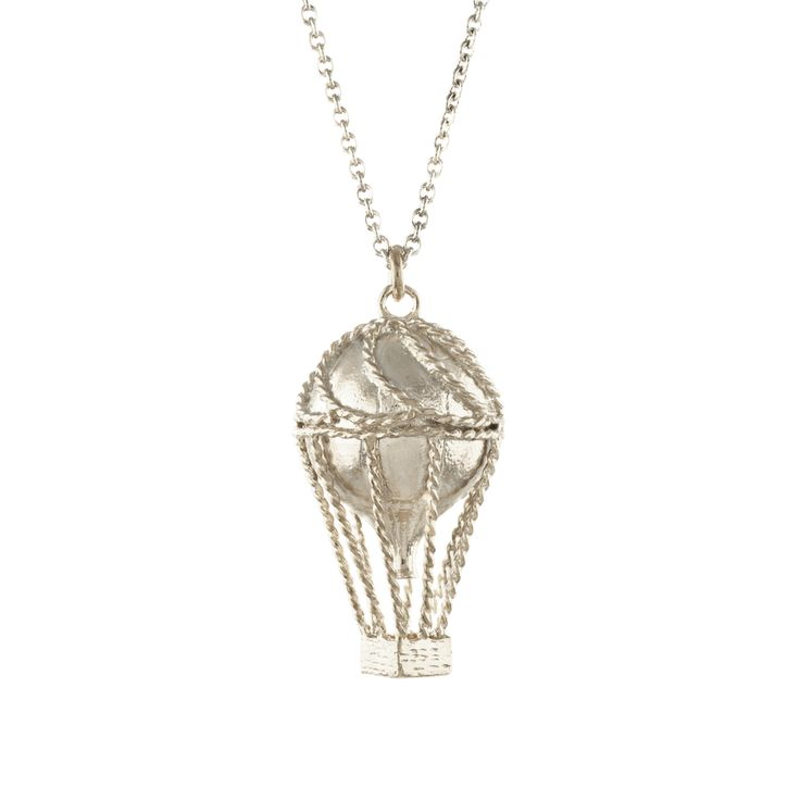 Hot Air Balloon Necklace, Alex Monroe
