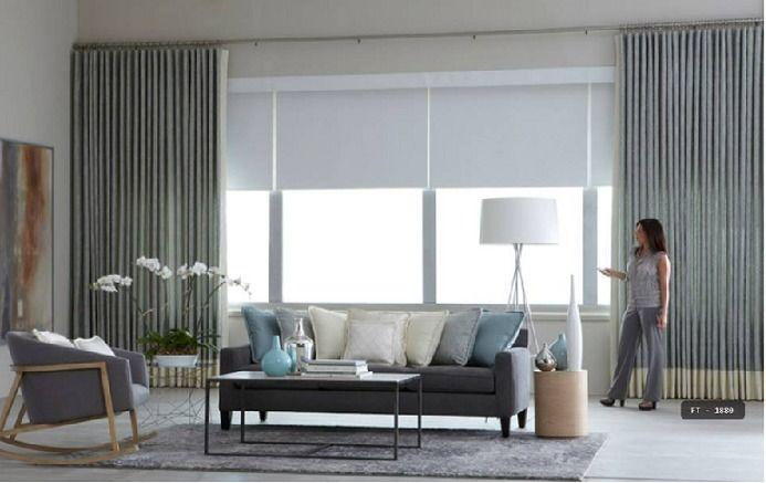 cortina persiana rolo blackout para sala