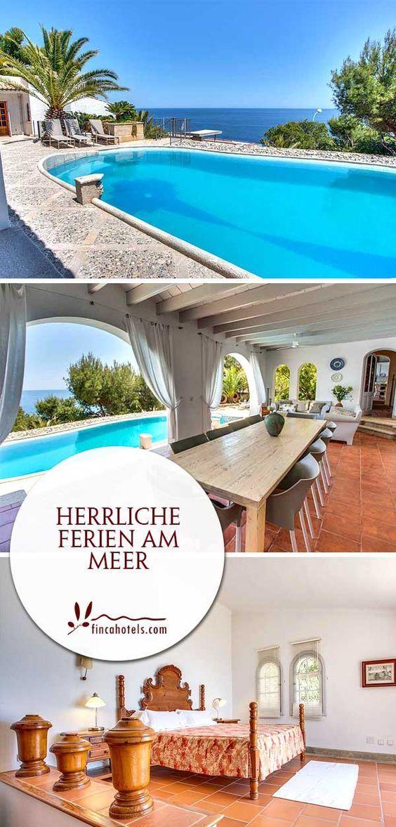 In 50 Metern bis zum Meer - diesen Traum vom Urlaub erfüllt das Ferienhaus Villa Ran de Mar auf Mallorca im Osten bei Font de Sa Cala. Mit Platz für 12 Personen können Freunde oder die ganze Familie hier unbeschwerte Ferien am Meer genießen.