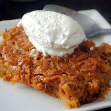 Haitian Sweet Potato Pudding Cake Recipe