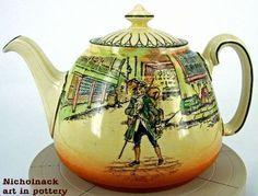 Royal Doulton Barnaby Rudge Joan Teapot