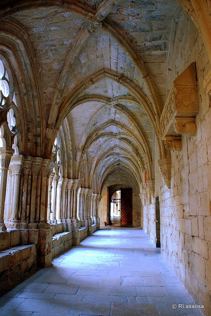 Monasterio de Poblet, Tarragona  Catalonia