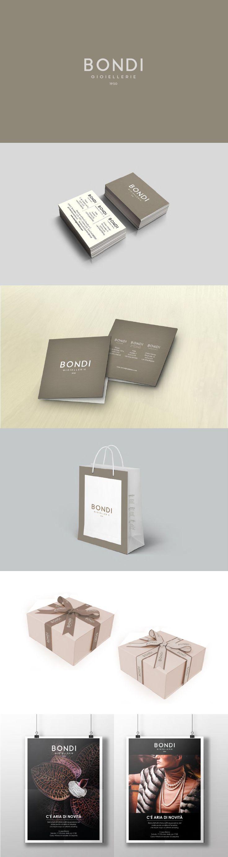Gioielleria Bondi, Brand Design ─ Giulio Patrizi Design Agency ©    #brand #identity #corporate #jewellery #packaging