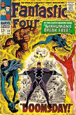 Fantastic Four #59, the Inhumans
