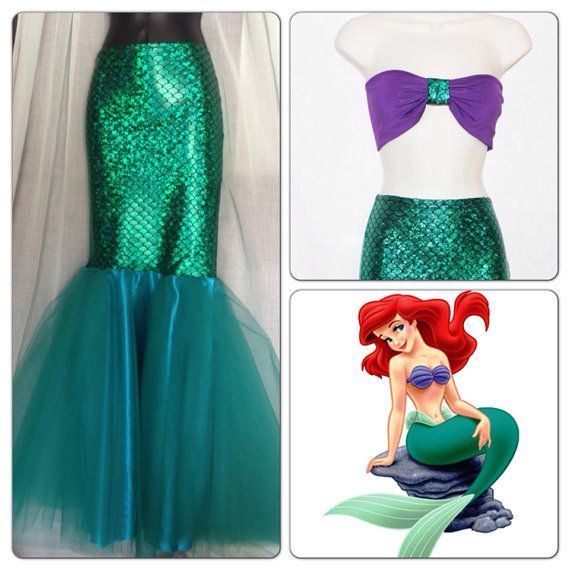 LITTLE MERMAID Full Mermaid Tail / Birthday by MTBGBOUTIQUE, @Angie Weaver, This is