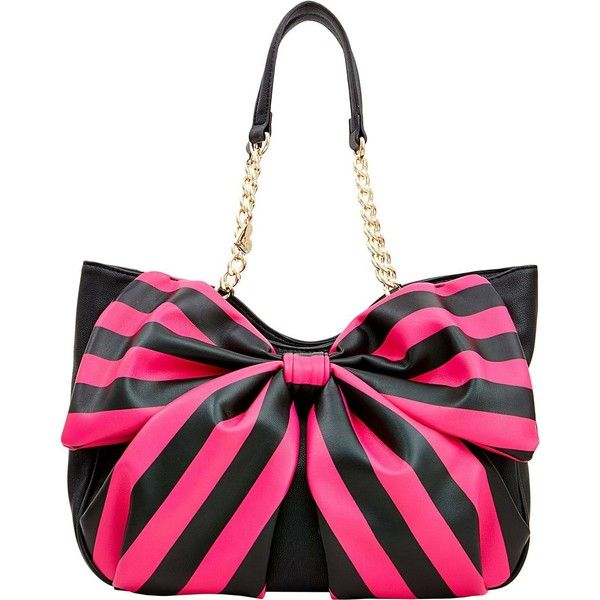 Handbags - Shop Women's Purses & Designer Handbags from Betsey Johnson ❤ liked on Polyvore featuring bags, handbags, white handbags, betsey johnson purses, betsey johnson, white purse and betsey johnson bags