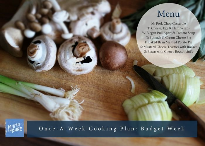 Once-A-Week Cooking Plan: Back-to-School Budget Dinners