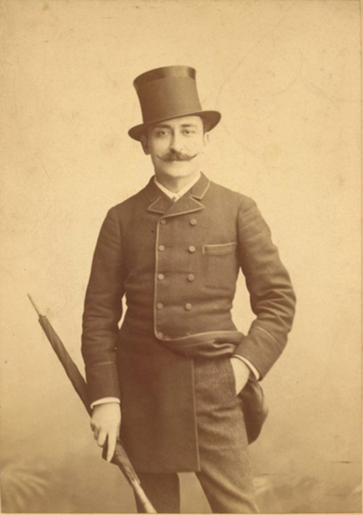 ANONYME, c.1888-1900. Paul Marsan dit DORNAC (1858-1941).