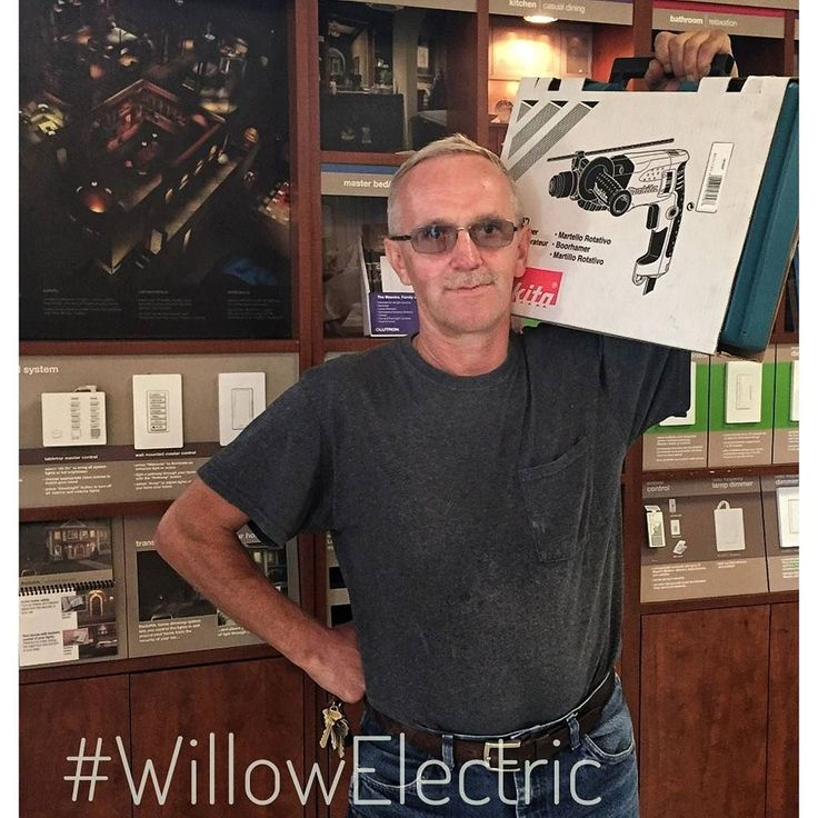 Meet John Kuklka a lucky winner of the @makitatools Hammer Drill courtesy of #WillowElectric.  #willowelectric #Makita #tools #skills #free #media #inbound #trade #Chicago #chicagoelectricalsupply #pic #photo #interiors #construction #lighting #interiordesign #luxe #contractor #interiors #power #newconstruction #powertools #giveaway #Instagram #schillerpark