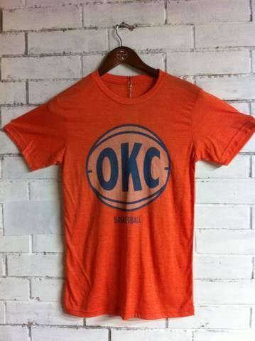 OKC Basketball Shirt / $15 / warpaint clothing co.