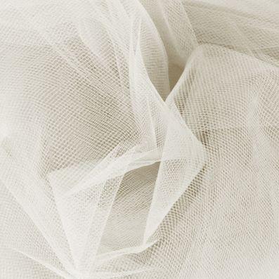 Corte A/Princesa Escote redondo Barrer/Cepillo tren Satén Tul Vestido de novia con Encaje Bordado (002004543) - DressFirst
