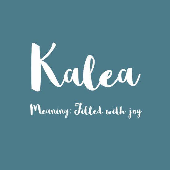 Kalea - Simply Adorable Hawaiian Baby Names for Girls - Photos