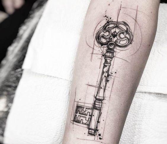 tatuajes para cerrar ciclos llave