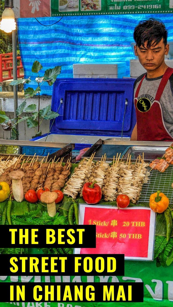 Chiang Mai Food Spots To Visit Today Chiang Mai Thailand Kids Hot Travel