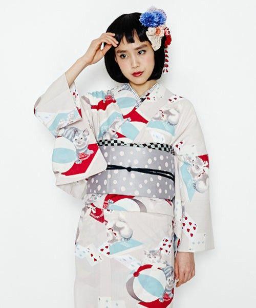 【ZOZOTOWN|送料無料】ふりふ(フリフ)の着物/浴衣「浴衣「猫トランプ」」(0651-394600)を購入できます。