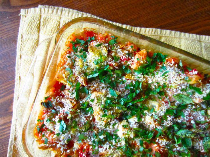 Baked Pasta with Chicken, Tomato, Basil, & Mozzarella - Ambrosia & NectarAmbrosia & Nectar
