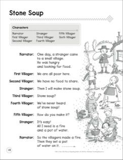 Stone Soup: A Beginning Reader Play