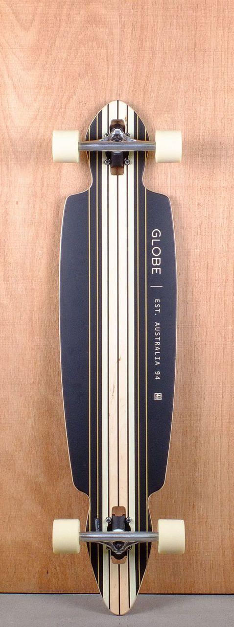 "Globe Prebuilt 41"" Pinner Drop Through Longboard Complete Bottom"