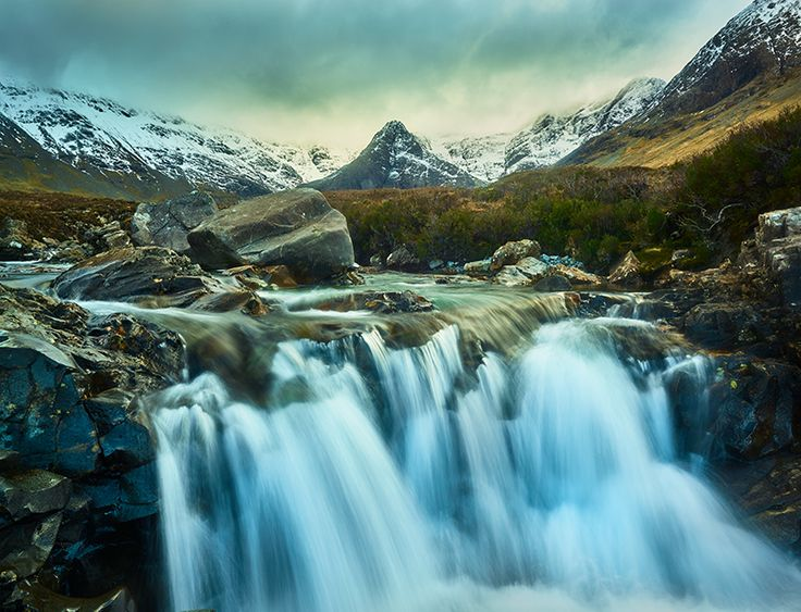 Waterfalls in #Scotland #travel #photography