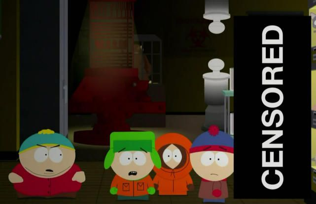 "Episodes That Were Banned From TV: South Park - ""201"""