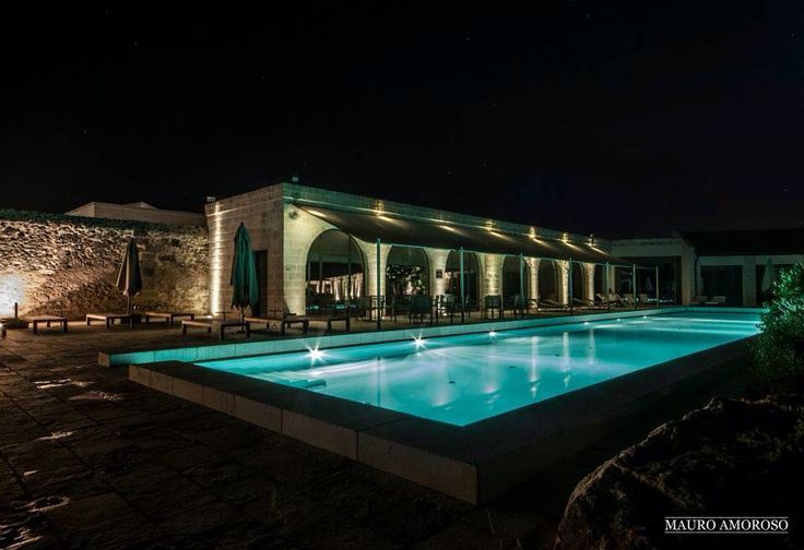Pool on night