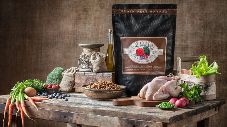 Game Bird Four-Star · Dog · Dry   A grain-free entrée of duck, turkey, quail, and pheasant with farm-fresh fruits & vegetables