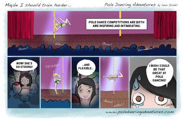 *Pole Dancing Adventures (PDA) - The Original Pole Dance Webcomic Series: Pole Dance Competitions