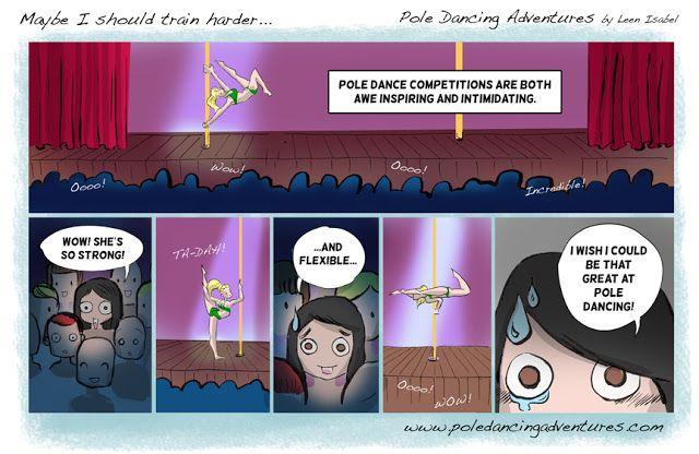 *Pole Dancing Adventures (PDA) - The Original Pole Dance Webcomic Series: Pole Dance Competitions