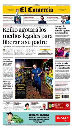 LUNES 10 de JUNIO de 2013  (PORTADA DE COMERCIO)