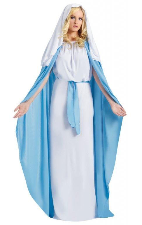 Virgin Mary Costume... would make cute ritual wear too