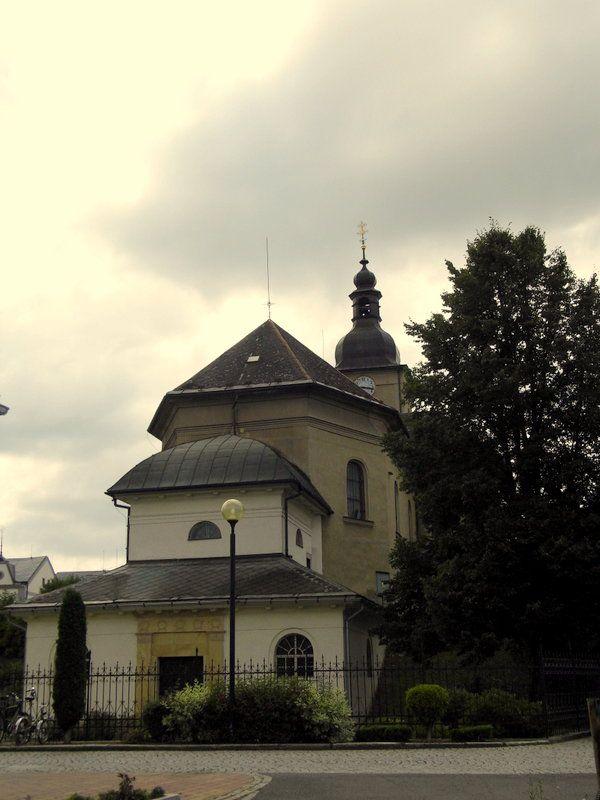 church in Bludov