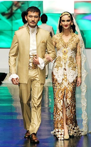 Indonesian Wedding Dress