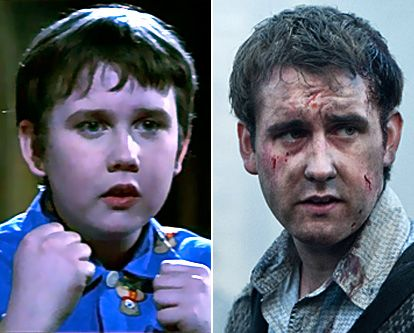 Harry Potter Stars: Then & Now: Matthew Lewis as Neville Longbottom   Left: In 2001's Harry Potter and the Philosopher's Stone and Right: In 2011's Harry Potter and the Deathly Hallows: Part 2