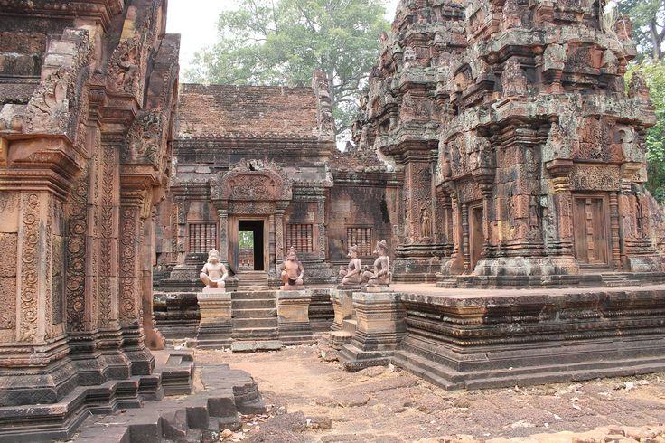 #Kambodscha #Angkor Wat #Banteay Srei #backflashpacker.de #backpacking #flashpacking