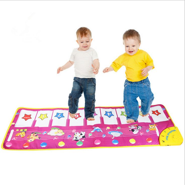 Pcmos Baby Musical Carpet Children Play Mat Piano Music