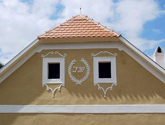 šambrány na venkovském domě - Hledat Googlem