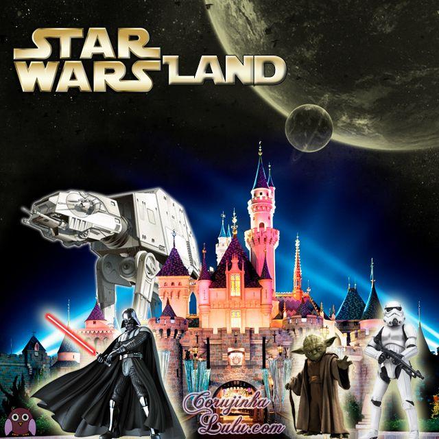 Voa pro blog www.corujinhalulu.com pra saber tudo sobre a nova área do #StarWars que vai ter nos #ParquesTemáticos da #Disney em #Orlando e na #Califórnia  #ThemeParks #StarWarsLand