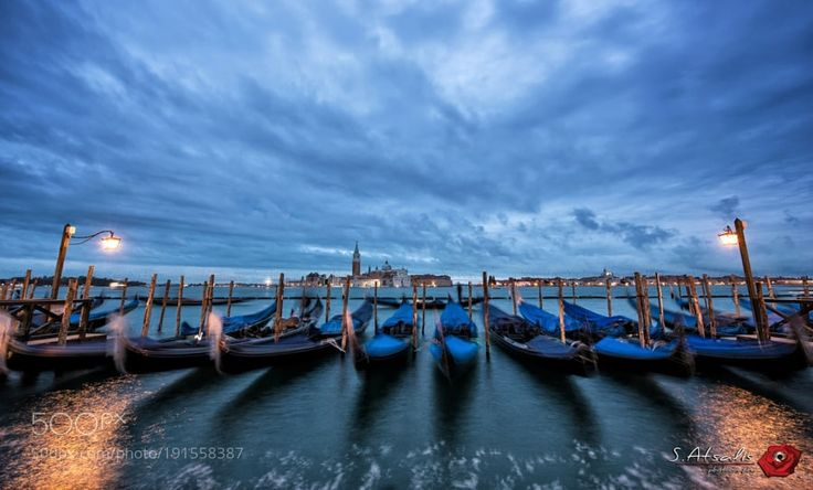 Popular on 500px : Blue Hour at Piazza San Marco by SAtsalis