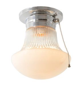 Ceiling Mounted Pull Chain Light Fixture