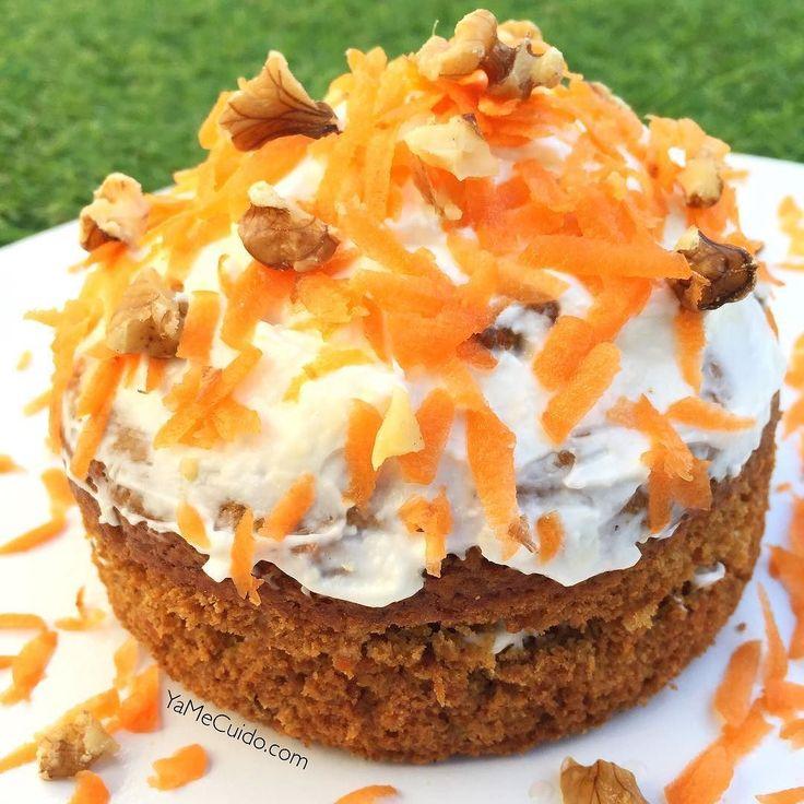 Buenos díasTe gusta el carrot cake? Y si encima te digo que es saludable y que  esta preparado con harina de avena integral? Todos a preparar la receta !!! Carrot cake saludable La receta en en blog  Yamecuido.com  #yamecuido #desayuno #desayunofit #desayunosano #desayunosaludable #desayunosanoyrico #vidafit #vidasanayfit #vidasana #vidafitness #healthy #fit #fitness #fitlife #fitlife #estilodevida #instafit #instafood #instafitness #food #fooddiary #foodstagram #recetas #recetasfit…