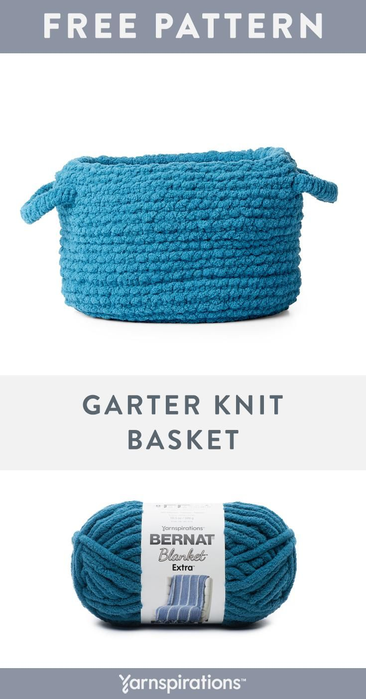 Bernat Blanket Extra Yarn | Free Knitting Pattern
