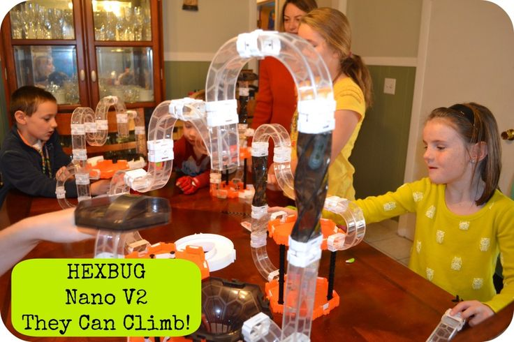 HEXBUG Nano V2 They Can Climb via Mama Luvs Books