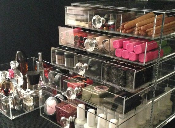 Best Clear Acrylic Makeup Organizer Ideas On Pinterest - Acrylic makeup organizer