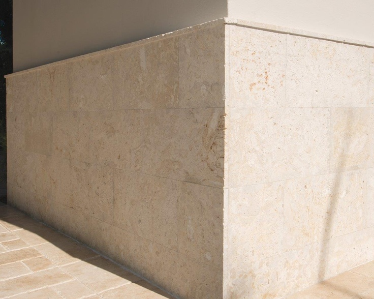 Coral Stone Wall Cladding : Coral gables residence « marmol stone outdoor wall