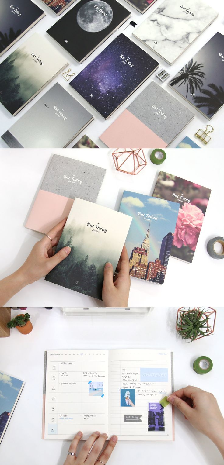 This planner is just b-e-a-utiful~!! Those nature inspired covers are absolutely gorgeous. The pages inside are equally classy with a clean design! Start planning today with this stunning dateless planner!
