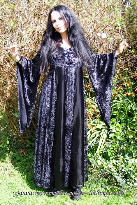 Lilyraven Gown by Moonmaiden Gothic Clothing UK
