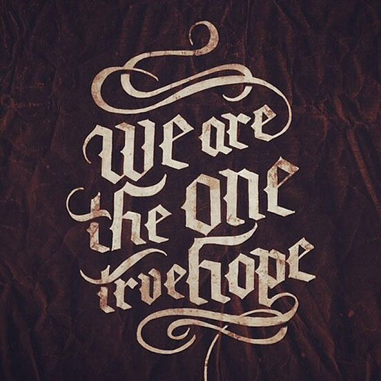 Hope - We came as Romans tattoo lyrics?