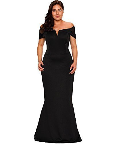 f9eb72512a3f PSD Lalagen Women s Plus Size Off Shoulder Long Formal Party Dress Evening  Gown