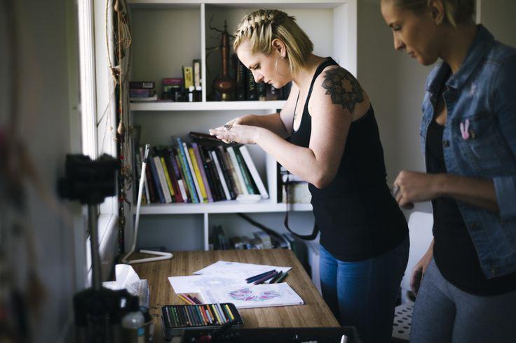 Behind the scenes creating content #TFEL #BTS #office #workspace #girlboss