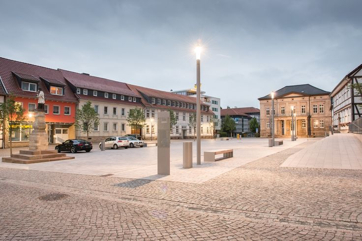 Engere Wahl: Friedensplatz und Rossmarkt Worbis, [ f ] landschaftsarchitektur gmbh, Stadt Leinefelde-Worbis, Thomas Langreder, Friedensplatz, © Thomas Langreder